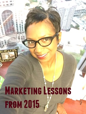 Marketing lessons 2015 Lee Watts